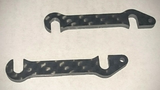 Carbon front-end shims 2.5mm