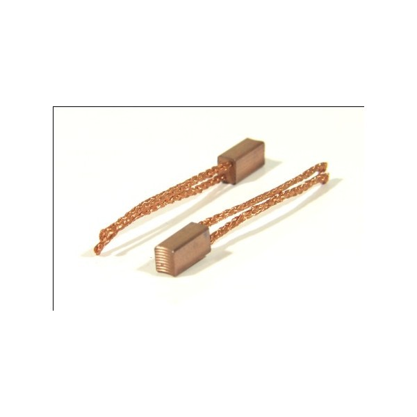 High Copper Serrated Brush # Double Shunt (1 pair)