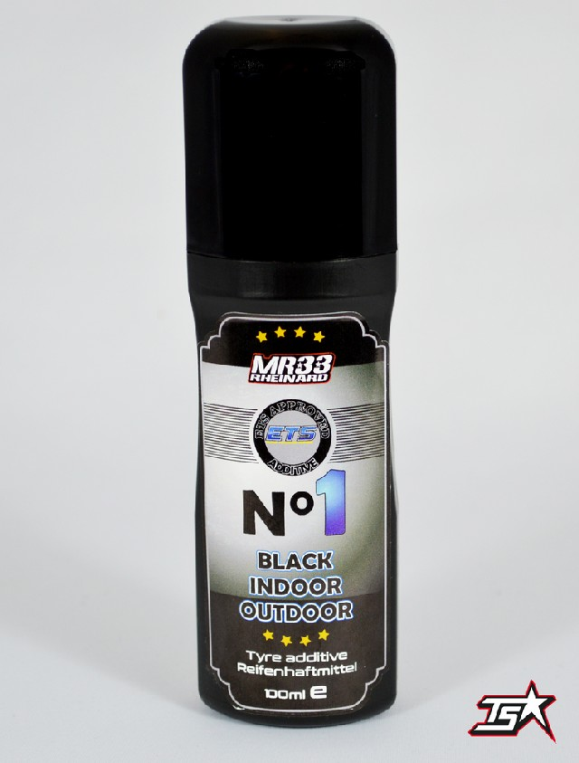 MR33 N°1 Black Indoor / Outdoor ETS Approved Tire Additive (100ml)